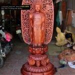 Mẫu tượng Phật A Di Đà lối Nhật Bản pha trộn văn hóa thời Lý Việt Nam