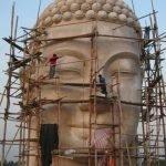 """Trả lời của Ban Hưng Công Xây Dựng """"Quốc Thái Dân An Phật Đài"""" về mẫu đầu tượng Phật"""