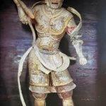 Phục hồi thành công màu sắc tượng thần Hộ pháp thế kỷ 8 tại Nhật Bản