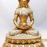 Tượng Phật A Di Đà lối Mật tông