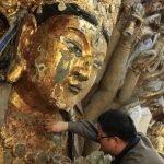 7 năm Phục chế tượng Phật nghìn tay tại Trung Quốc