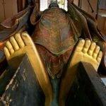 Phục chế Tượng Bồ Tát Địa tạng thế kỷ 13 mạ vàng dưới lòng bàn chân tại Nhật Bản