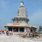 Vì sao tượng Phật khổng lồ ở Thái Bình bị đổ?