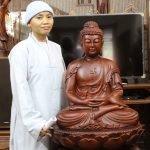 Tôn tượng Bổn sư Thích Ca Mâu Ni Phật lối Ấn độ