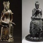 Ngắm tượng đức Phật thiền liên hoa tọa Hàn - Nhật
