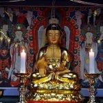 Xem cảnh sát quận Giang Nam (Hàn Quốc) an vị tượng Phật