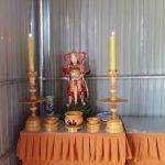 Tâm thư phát tâm tượng Phật, Bồ tát gỗ cao 1.7-2.5m - Niệm phật đường Từ Minh, Dak Lak