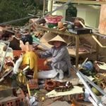 Kêu gọi Giúp Tịnh Thất bị sập hoàn toàn do bão số 12, tháng 11/2017 - Tịnh thất Bảo Sơn, tỉnh Khánh Hòa