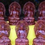 Bộ Thất Phật Dược Sư tạo tác theo tranh vẽ cổ Mạn Đà La cách đây hàng trăm năm