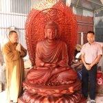 Tượng Phật Thích Ca cao 2.5m