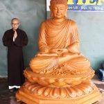 Tượng Phật Thích Ca cao 2m
