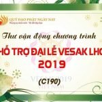 Thư vận động Ấn tống Kinh sách cho Đại Lễ Vesak Liên Hợp Quốc 2019
