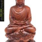 Tôn tượng Phật Thích Ca lối Thiền tông ngồi Kiết già
