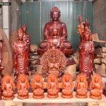 Hệ thống tượng Phật chùa miền Nam