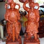 Mẫu tượng Hộ Pháp Vi Đà và Tiêu Diện Đại Sĩ