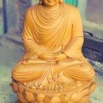 Mẫu tượng Phật Thích Ca lối Thiền tông